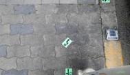 日本人行道上的貼紙到底有什麼作用?
