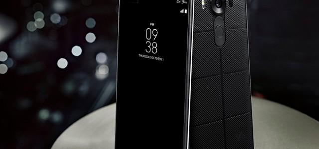 LG 針對多媒體體驗 推出擁有第二螢幕與雙前置相機的全新 V10 智慧型手機