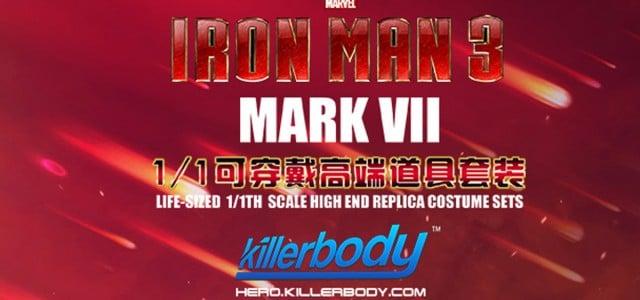 1:1 可穿戴鋼鐵人道具服問世讓您也能成為鋼鐵人!